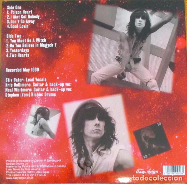 Discos de vinilo: STIV BATOR ( Lords of the new Church / Dead Boys ) Do You Believe In Magyk? LP Vinilo Rojo Precintad - Foto 12 - 177653514