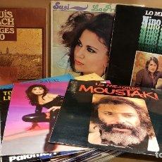 Discos de vinilo: LOTE 30 LP/MAXI POP-ROCK / EN GENERAL DE BUENA CALIDAD / ALGUNOS CON MARCAS DE USO / LEER. Lote 143122234