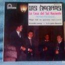 Discos de vinilo: LOS ÁGAROS - LA CASA DEL SOL NACIENTE + 3 - FANTÁSTICO EP CON LENGÜETA ORIGINAL FONTANA - COMO NUEVO. Lote 143079226