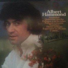 Discos de vinilo: ALBERT HAMMOND - MY SPANISH ALBUM. Lote 143124182