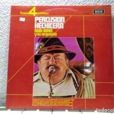Discos de vinilo: PERCUSIÓN HECHICERA . Lote 143129198