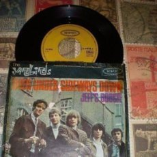 Discos de vinilo: THE YARDBIRDS -OVER UNDER SIDEWAYS DOWN / JEFF'S BOOGIE * 1966 MUY RARA OG ALEMANIA. Lote 143133434