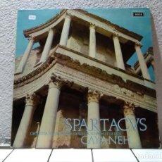 Discos de vinilo: SPARTACUS. Lote 143136370
