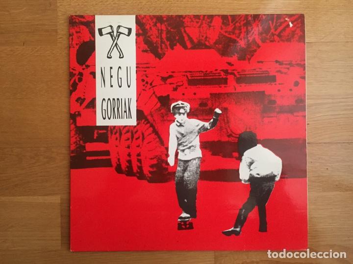 NEGU GORRIAK: NEGU GORRIAK (Música - Discos - LP Vinilo - Punk - Hard Core)