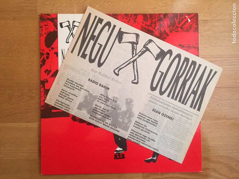 Discos de vinilo: NEGU GORRIAK: NEGU GORRIAK - Foto 3 - 143136514