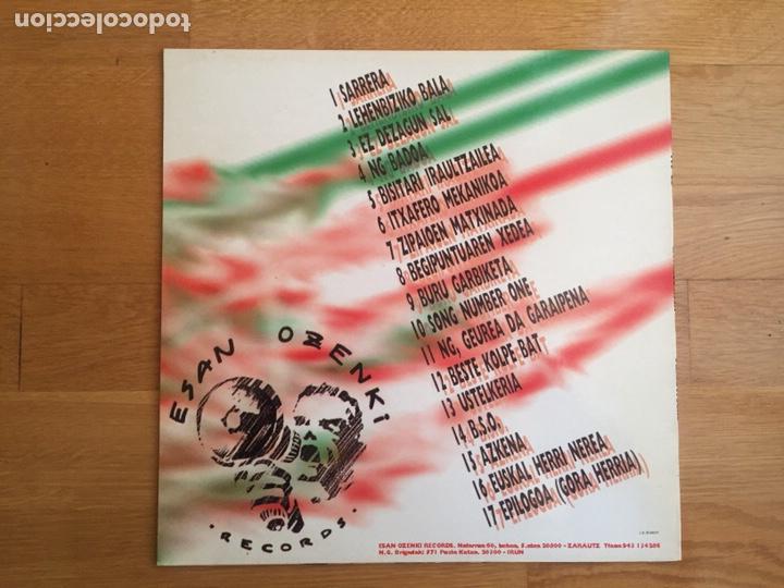 Discos de vinilo: NEGU GORRIAK: GURE JARRERA - Foto 2 - 143136801