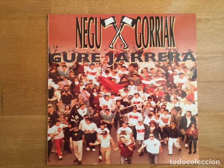 NEGU GORRIAK: GURE JARRERA (Música - Discos - LP Vinilo - Punk - Hard Core)