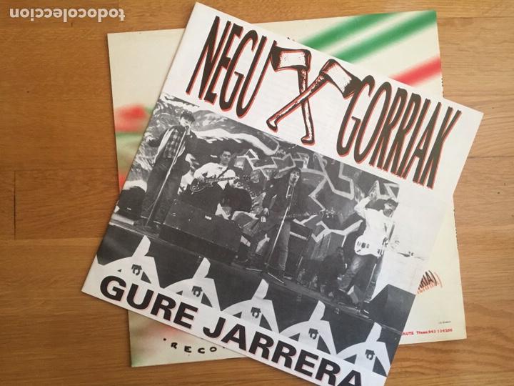 Discos de vinilo: NEGU GORRIAK: GURE JARRERA - Foto 3 - 143136801