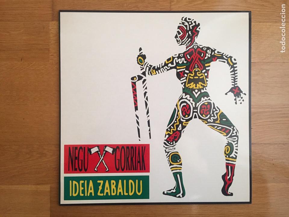 NEGU GORRIAK: IDEA ZABALDU (Música - Discos - LP Vinilo - Punk - Hard Core)