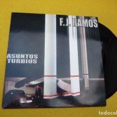 Discos de vinilo: MAXI SINGLE F.J. RAMOS – ASUNTOS TURBIOS 2000 HIP HOP Ç. Lote 143139842