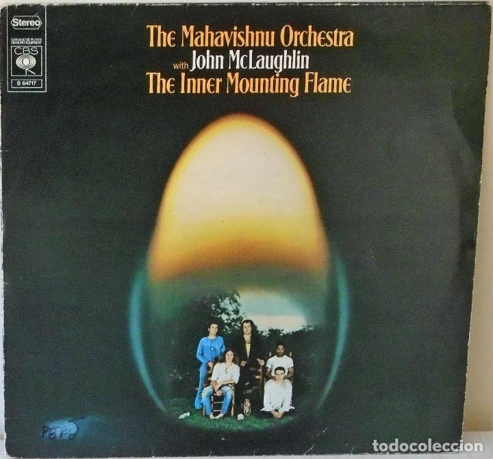 THE MAHAVISHNU ORCHESTRA WITH JOHN MCLAUGHLIN - THE INNER MOUNTTING FLAME HOLLAND -C B S - 1971 (Música - Discos - LP Vinilo - Jazz, Jazz-Rock, Blues y R&B)