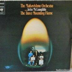Discos de vinilo: THE MAHAVISHNU ORCHESTRA WITH JOHN MCLAUGHLIN - THE INNER MOUNTTING FLAME HOLLAND -C B S - 1971. Lote 143145374