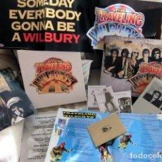 Discos de vinilo: TRAVELLING WILBURYS CAJA TRES DISCOS EDICION LUXE BOX BEATLES HARRISON DYLAN PETTY ORBISON. Lote 143146046