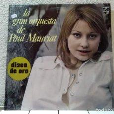 Discos de vinilo: LA GRAN ORQUESTA DE PAUL MAURIAT . Lote 143146650