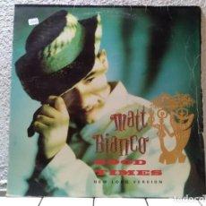 Discos de vinilo: MATT BIANCO. Lote 143147950