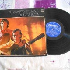 Discos de vinilo: DISCO ANTIGUO DE CAMARON CON PACO DE LUCIA AÑO 1969. Lote 143150946