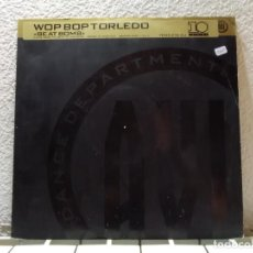 Discos de vinilo: WOP BOP TORLEDO. Lote 143152138