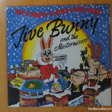 Discos de vinilo: JIVE BUNNY AND THE MASTERMIXES - C´MON EVERYBODY LET´S PARTY - LP. Lote 143153130