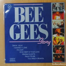 Discos de vinilo: BEE GEES - THE BEE GEES STORY - LP. Lote 143153325