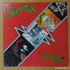 Discos de vinilo: THE SKEPTIX - SINGLES AND DEMO - LP. Lote 143153433