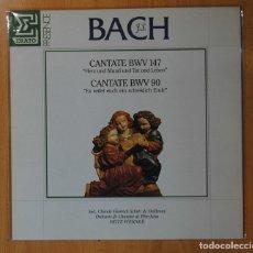 Discos de vinilo: J.S. BACH - CANTATE BWV 147 / CANTATE BWV 90 - LP. Lote 143153746