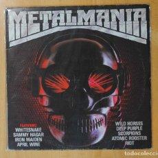 Discos de vinilo: VARIOS - METALMANIA - LP. Lote 143154065