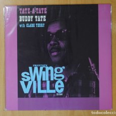 Discos de vinilo: BUDDY TATE WITH CLARK TERRY - TATE-A-TATE / SWING VILLE - LP. Lote 143154281