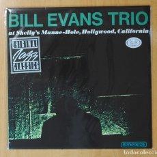 Discos de vinilo: BILL EVANS TRIO - AT SHELLY´S MANNE-HOLE, HOLLYWOOD, CALIFORNIA - LP. Lote 143154430