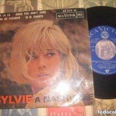 Discos de vinilo: SYLVIE VARTAN - A NASHVILLE - EP FRANCE(RCA 1963 ) OG FRANCIA LEA DESCRIPCION. Lote 143155774