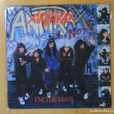 Discos de vinilo: ANTHRAX - I´M THE MAN - LP. Lote 143155825