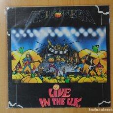 Discos de vinilo: HELLOWEEN - LIVE IN THE U.K. - LP. Lote 143156346