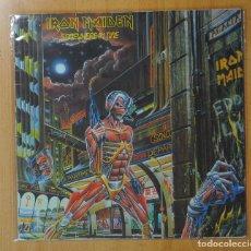 Discos de vinilo: IRON MAIDEN - SOMEWHERE IN TIME - LP. Lote 143156426