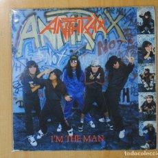 Discos de vinilo: ANTHRAX - I´M THE MAN - LP. Lote 143156440