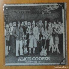 Discos de vinilo: ALICE COOPER - GREATEST HITS - LP. Lote 143156565