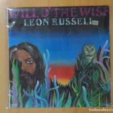 Discos de vinilo: LEON RUSSELL - WILL O´ THE WISP - LP. Lote 143156602