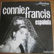 Discos de vinilo: CONNIE FRANCIS - ESPAÑOLA ************* RARO EP ESPAÑOL PROMOCIONAL PÉRGOLA 1965 BUEN ESTADO. Lote 143157458