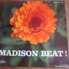 Discos de vinilo: THE ORLONS - MADISON BEAT ************* RARO EP FRANCÉS! CON THE WAH-WATUSI. Lote 143157826