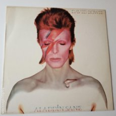 Discos de vinilo: DAVID BOWIE - ALADDIN SANE - SPAIN LP 1976 + INSERT - VINILO EXC. ESTADO.. Lote 143161626