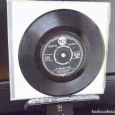 Discos de vinilo: ELVIS PRESLEY ----IT´S NOW OR NEVER - AÑO1960 ---MADE IN U.K.- ORIGINAL RCA 1207 ---SOLO DISCO. Lote 143161862