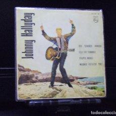 Discos de vinilo: JOHNNY HALLYDAY --TES TENDRES ANNEES 1963. Lote 143162346
