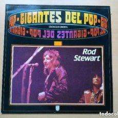 Discos de vinilo: ROD STEWART - GIGANTES DEL POP (LP) 1988. Lote 143163274
