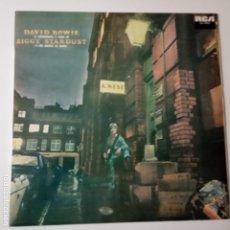 Discos de vinilo: DAVID BOWIE– LA ASCENDENCIA Y CAIDA DE ZIGGY STARDUST Y LAS ARAÑAS DE MARTE- SPAIN LP 1981.. Lote 143163378