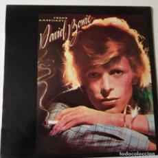 Discos de vinilo: DAVID BOWIE- YOUNG AMERICANS- SPAIN/UK EDITION LP 1975- MAINMMAN- RARE.. Lote 143164490