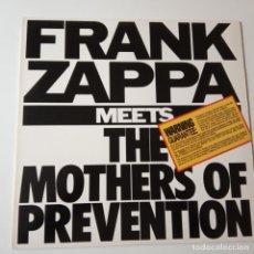 Discos de vinilo: FRANK ZAPPA- MEETS THE MOTHERS OF PREVENTION- USA LP 1985+ INSERT- COMO NUEVO.. Lote 143167070