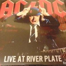 Discos de vinilo: AC DC LIVE AT RIVER PLATTER 3LP (MEJOR QUE NUEVO, SOLO COMPROBADO). Lote 143167426