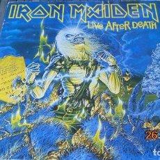 Discos de vinilo: LIVE AFTER DEAD 1 ED ORIGINAL DEL 85 DOBLE LP (SUENA GENIAL, DUELE). Lote 143172626