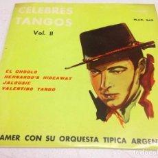 Discos de vinilo: CELEBRES TANGOS VOL 2-. Lote 143175470