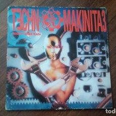 Discos de vinilo: TECHNO MAKINITA 3-2 LP. Lote 143179482