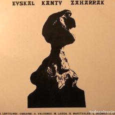Discos de vinilo: EUSKAL KANTU ZAHARRAK SELLO: EDIGSA ?– HG-58 L SERIE: HERRI-MUSIKA SORTA – 13 FORMATO: VINYL, LP . Lote 143181214