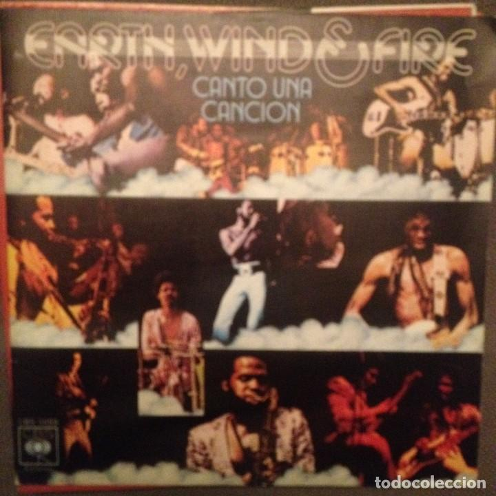EARTH WIND & FIRE: ?SING A SONG CANTO UNA CANCION ED. ESPAÑA 1976 (Música - Discos - Singles Vinilo - Funk, Soul y Black Music)